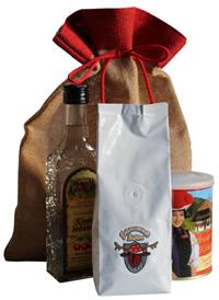 Jutesäckchen Weihnachtsgeschenk