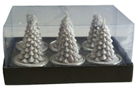 Tannenbaum Teelicht Geschenkbox