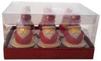 Weihnachtsmann Teelicht Geschenkbox